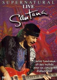 Cover Santana - Supernatural Live [DVD]